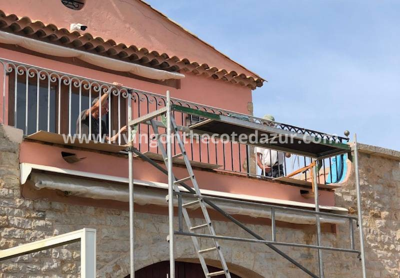 Maintenance of your villa on the French Riviera