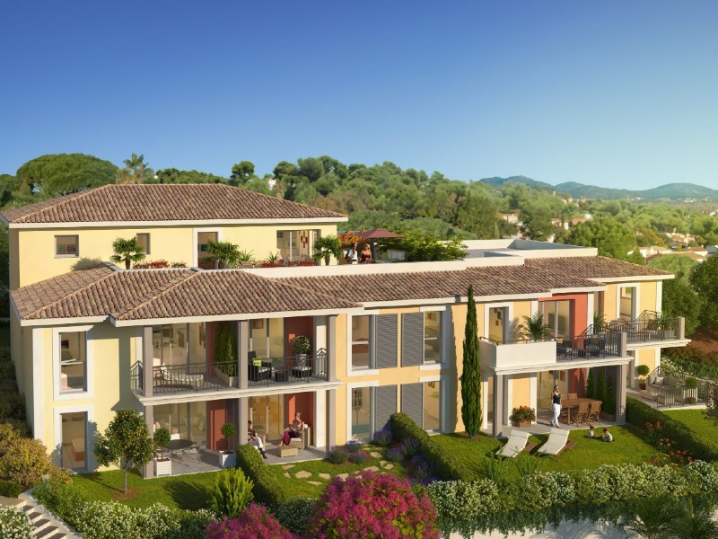 Cogolin - Affordable new apartments near Saint Tropez
