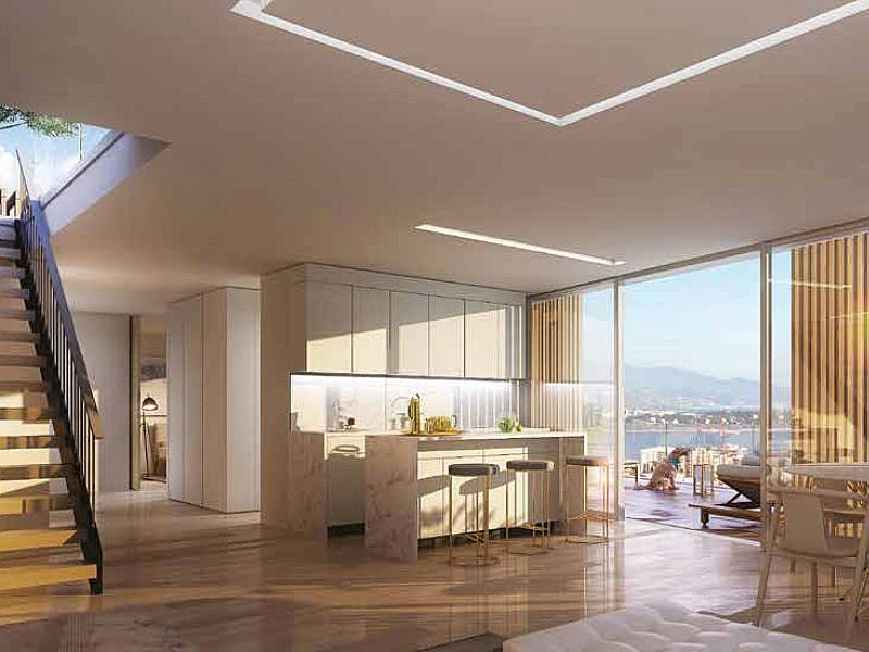 Beautiful new penthouse Beausoleil in special design