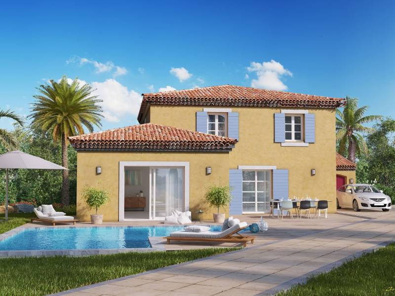 Profit from a high rental yield with a new villa near Port Grimaud