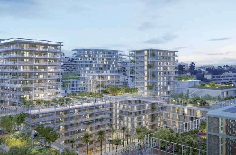 New construction Eco Valley in Joia, Nice of the 21st century