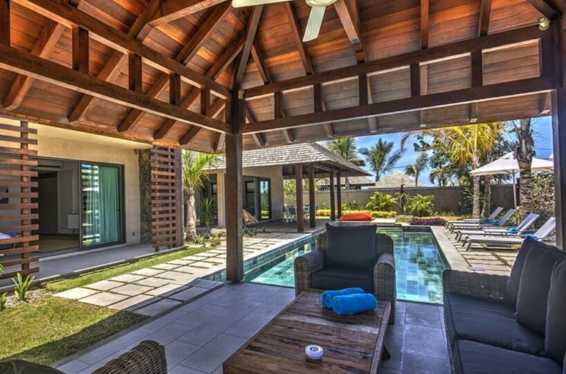 New villa or apartment in luxury resort Mauritius Grand Baie