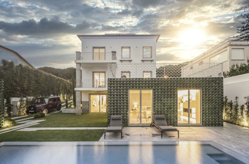 Architectural masterpiece Restelo villa in Lisbon, Portugal