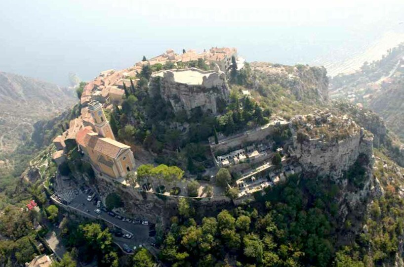new apartment in Eze with the best view on the sea and Eze old town