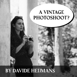 Vintage photoshoot Davide Heijmans