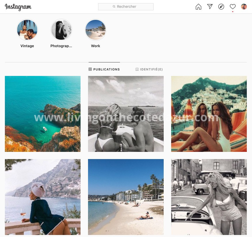 Côte d'Azur Vintage Photoshoot