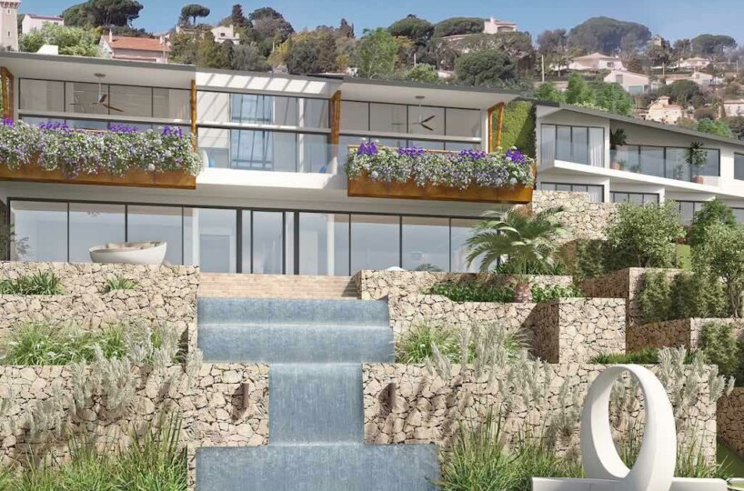 modern palace on the top of luxury in Golfe Juan French Riviera